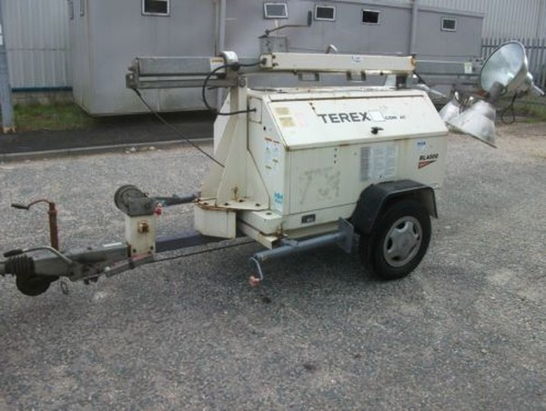 Terex Lighting tower generator