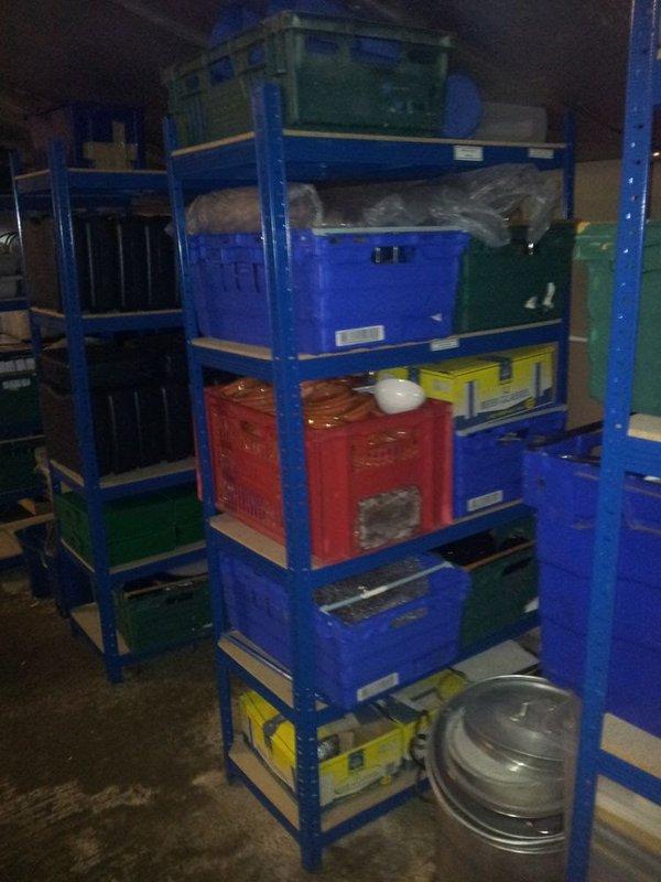 Boxed crockery