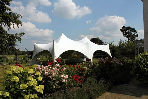 Canopy marquee with sides