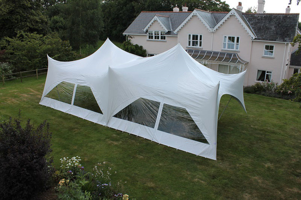 Event marquee from Crown Conopies