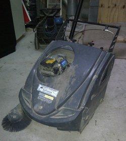 Floor Master SW70P,Yard Store Floor Sweeper