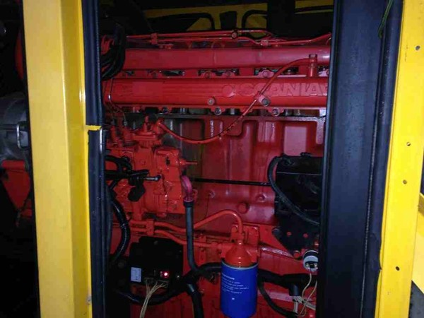 Scania 6 Cylinder Turbo Diesel generator engin