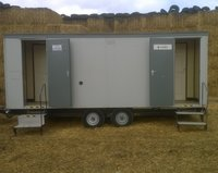 3x2 Mobile Toilet (Electric Mains – unit2) Gas Re-circ