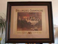 Bollinger's Champagne By appointment ot H.M. The King