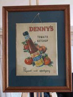 Denny's Ketchup Restaurant Art for sale
