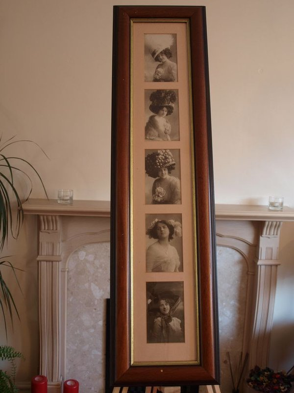 Framed Pictures, Two Groups of Victorian Ladies
