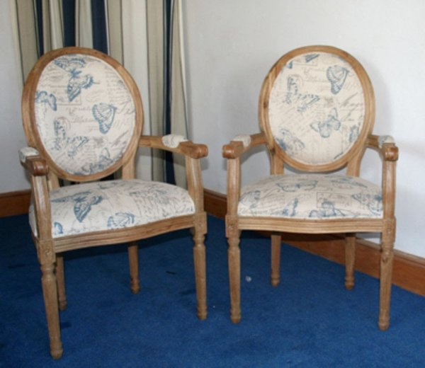 Louis XIV style Carver Chairs