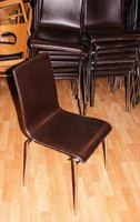 60 leather side chairs