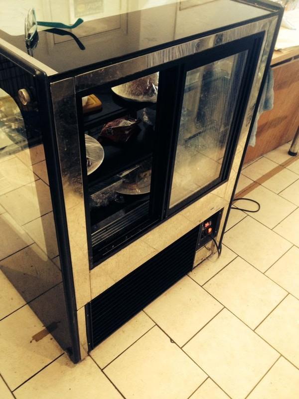 buy used  three tiered display fridge