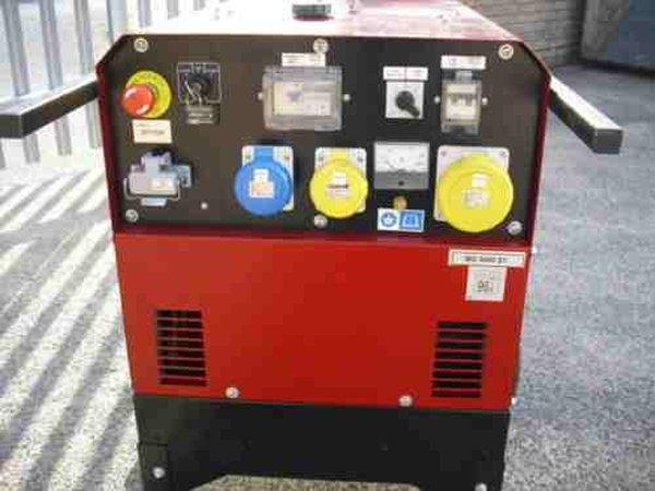 Genset MG5000SY Silenced Diesel Generator