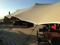 11m x 11m stretch tent