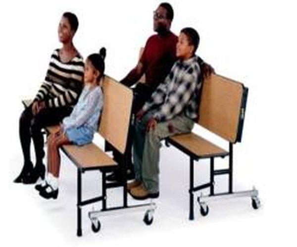 folding bench unit