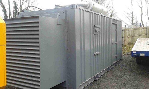 Containerised generator