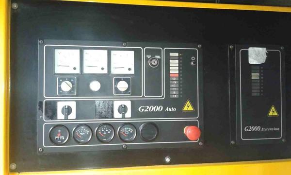 G200 auto control panel