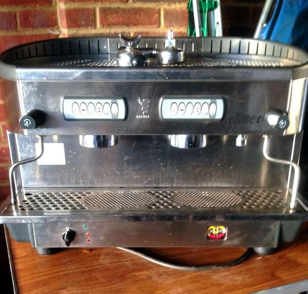 Bezzera Ellisse DE 2 Group Professional Coffee Machine
