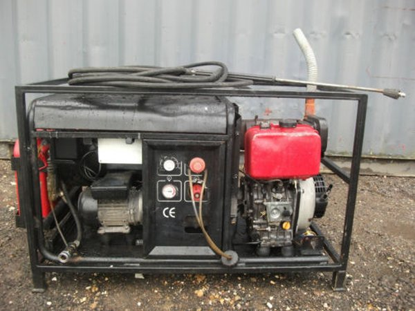 2005 Ehrle HDD1240 diesel Hot pressure washer 180bar steam cleaner