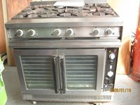 Falcon G1102 Forced Convection Electric Ovens with 6 Gas Rings