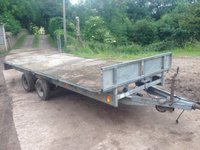 Ifor Williams LM166-16Ft Twin Axle 3500kg Flat Trailer