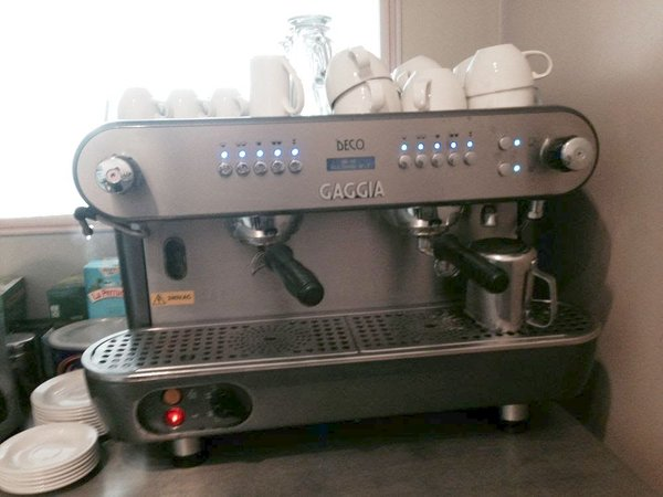 Gaggia Deco Coffee Machine & Grinder