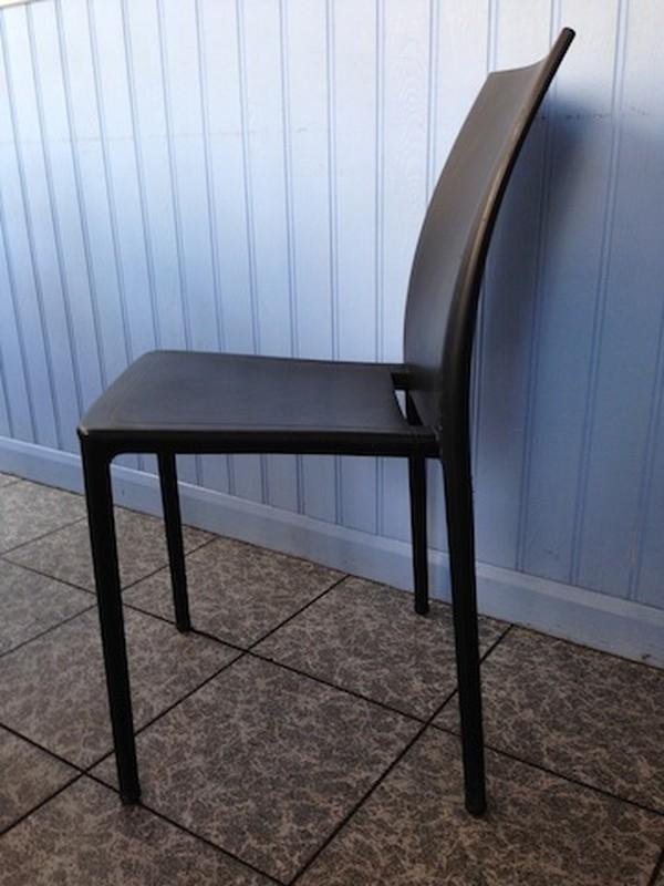 black Gaber 'Moon' Chairs Indoor Outdoor Furniture