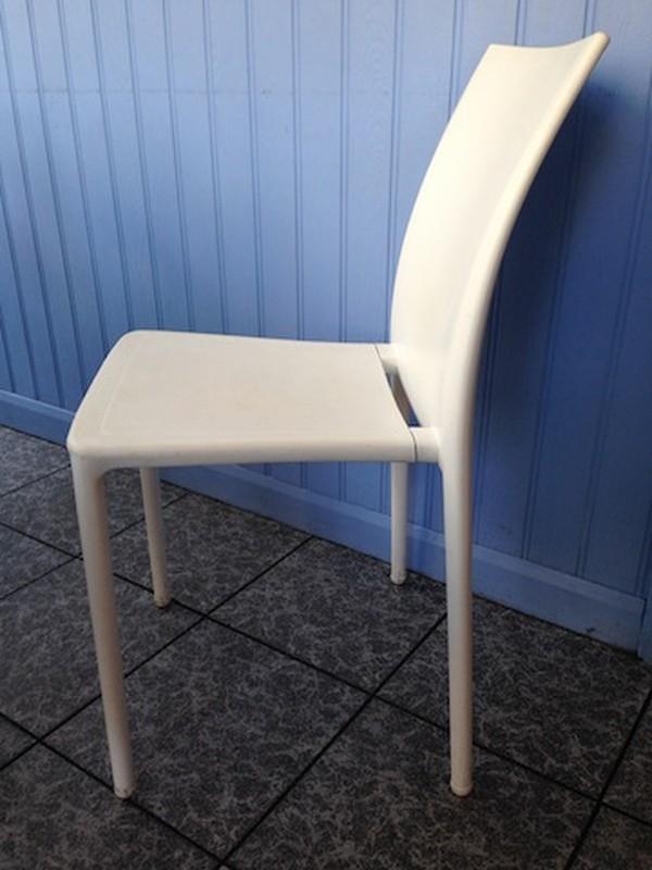 white Gaber 'Moon' Chairs