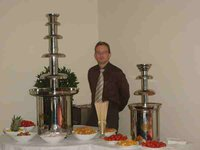 """The 56"""" and 36"""" Chocolate Fountain for sale"""