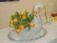 Swan Ice Sculpture Mould