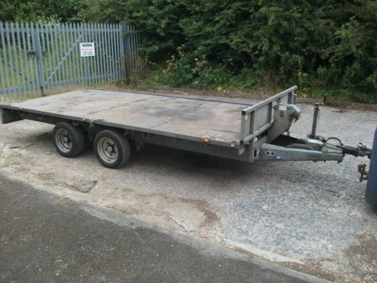 Secondhand Trailers Flat Bed Trailers 2009 Ifor