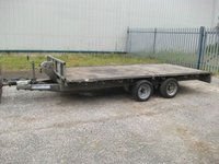 14ft Ifor williams twin axle trailer for sale