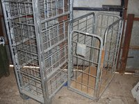 Small Wheeled Stock Cages for sale