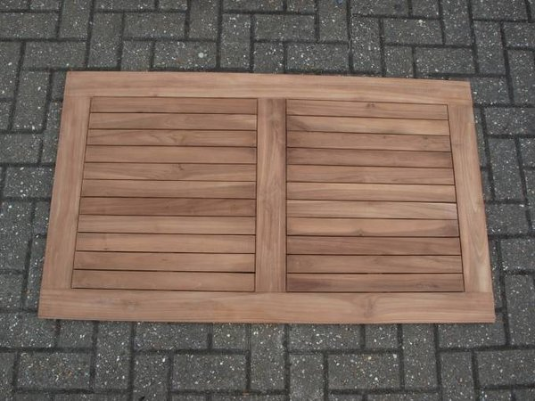 20 x  Brand New Rectangular Solid Teak Outdoor Table Tops.