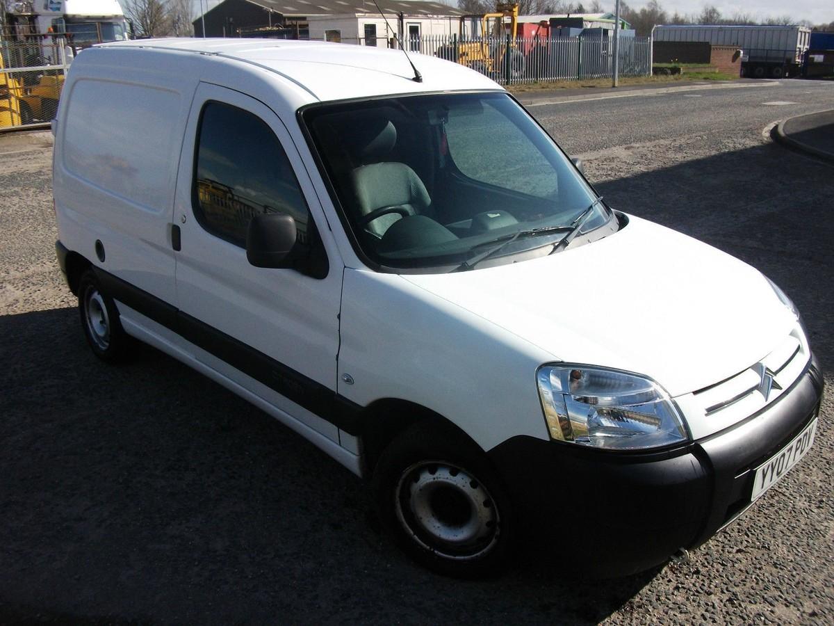 Used Diesel Trucks >> Secondhand Lorries and Vans | Car Derived Vans | Citroen Berlingo 600 HDI Enterprise 75 Van ...