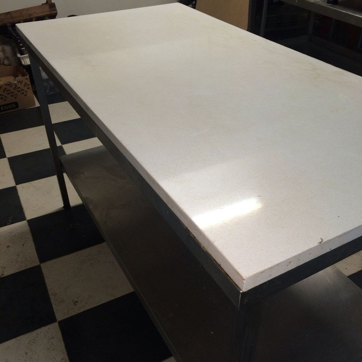 Baking Pastry Prep Table ...