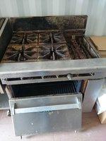 Imperial Elite 6 Burner oven for sale
