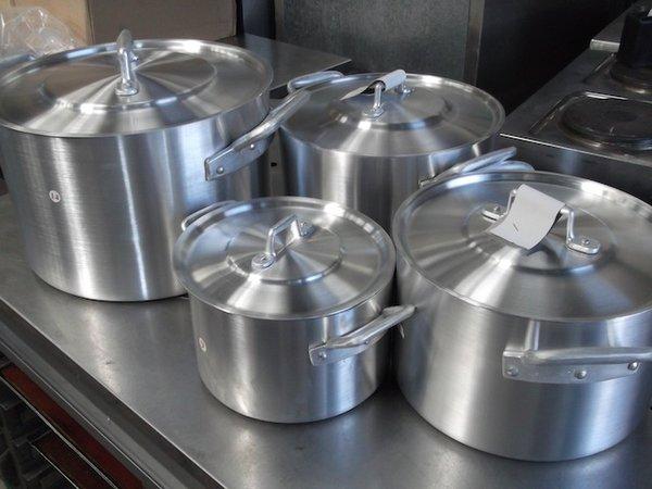 Brand New Aluminium Stock Pots
