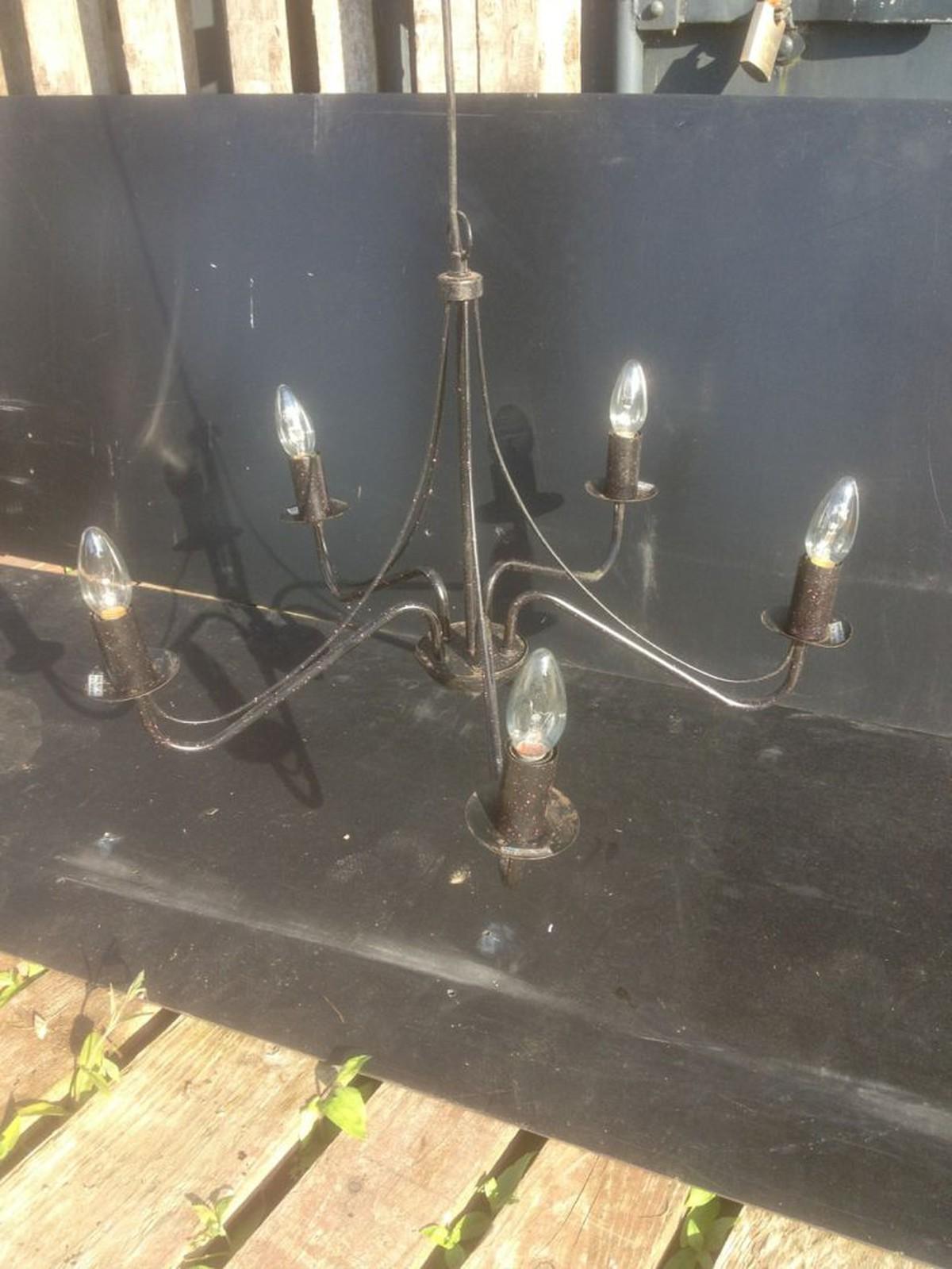 Secondhand prop shop gothic black chandeliers essex 5 arm chandelier aloadofball Choice Image