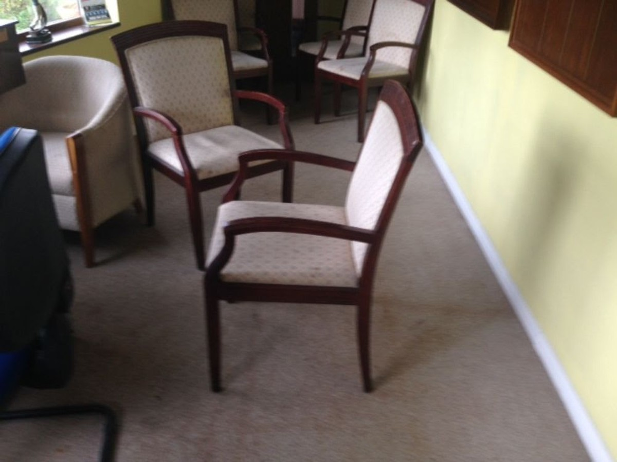 Secondhand Pub Equipment Chairs 65 Carver Upholstered