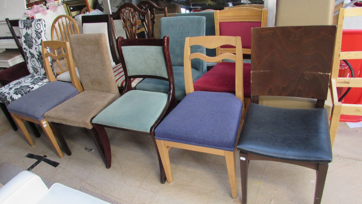 13x Selection Of Chairs Sussex