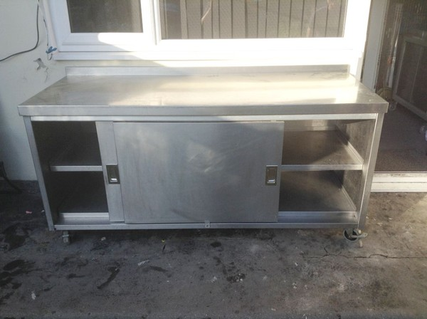 large prep cupboard