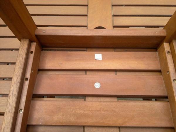 Hardwood outdoor furnitue