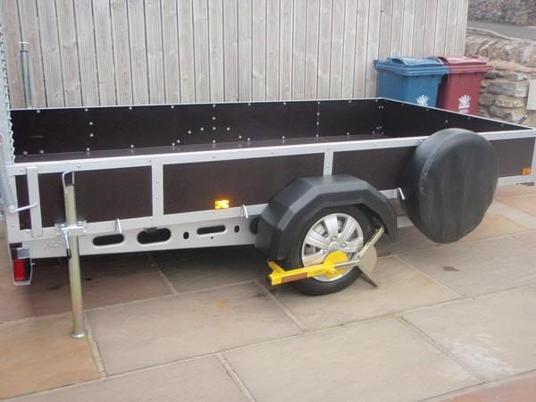 Alko Galvanised chassis trailer
