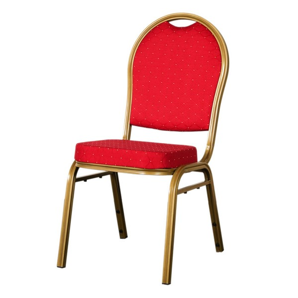 red round banqueting chair