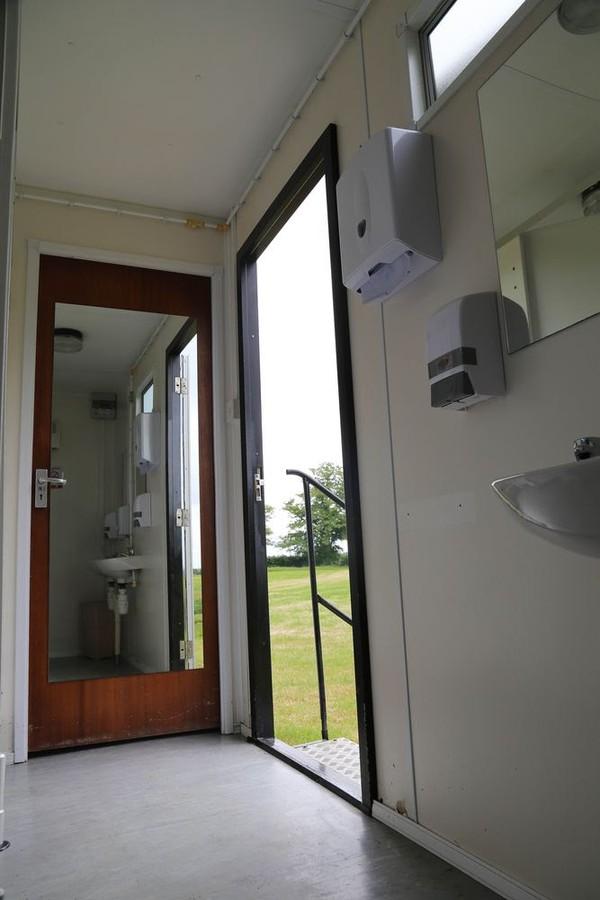 Mains Multi Toilet Trailer for sale