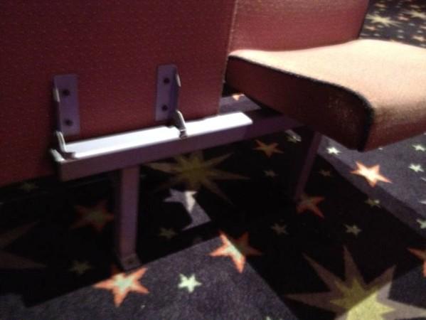 Mecca bingo hall seats