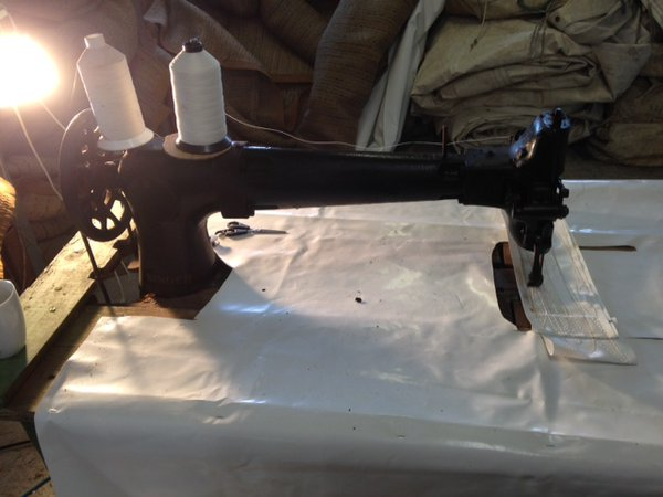 Singer 133K17 Long Arm industrial sewing machine