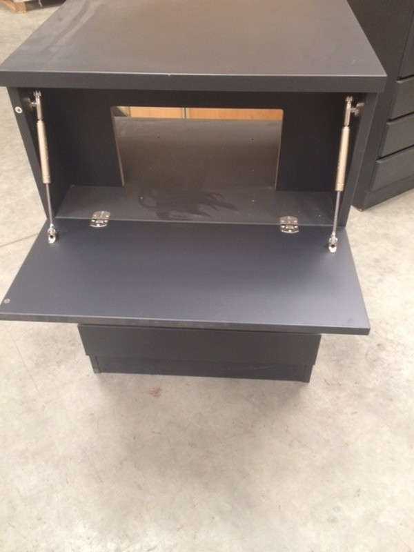 New Grey Baked Paint Finish Drawer Unit for sale