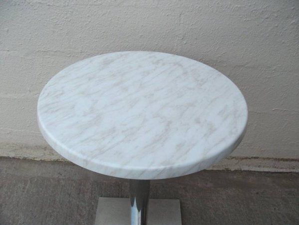 marble effect round table tops
