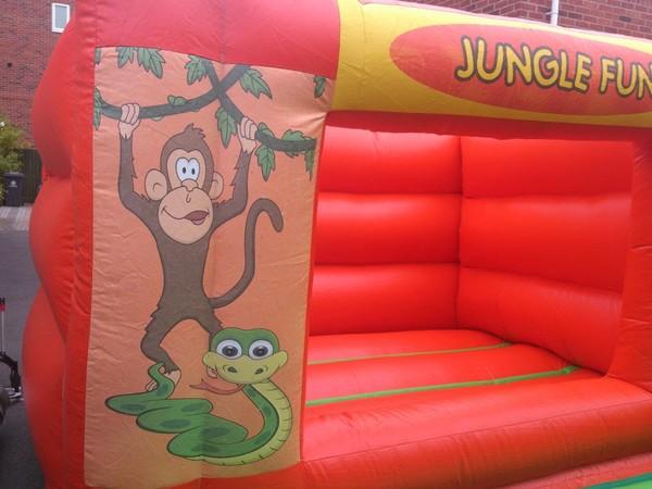 Jungle bouncy castle for sale