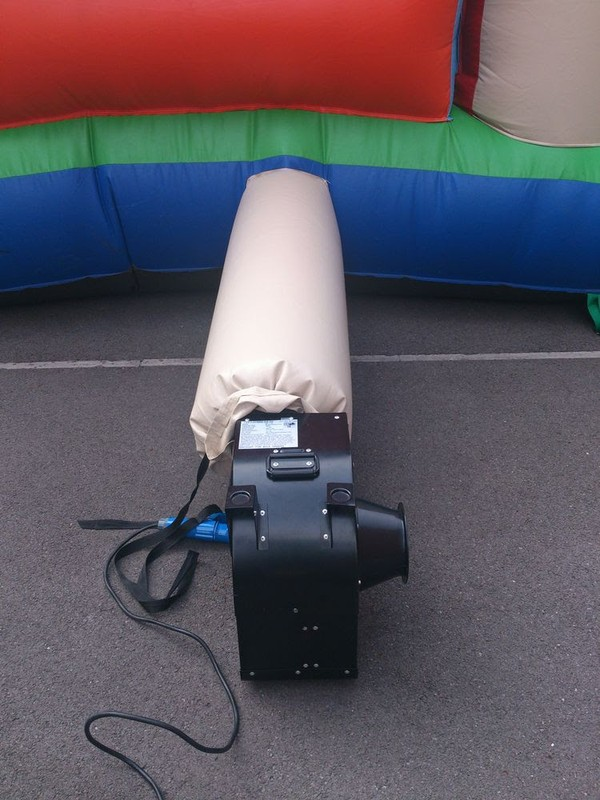 12x15ft Covered Bouncy Castle with blower