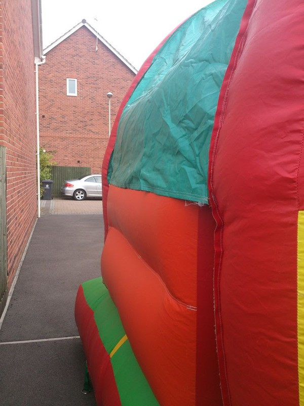 Party time bouncy castle for sale